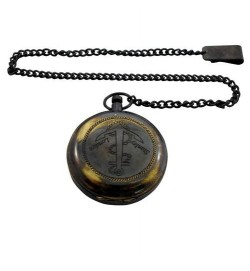Pocket Compass w/Chain