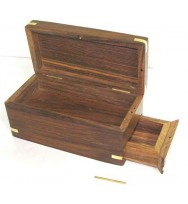Box w/secret compartment drw