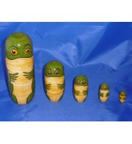 S/5 Frog Doll