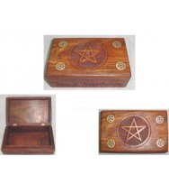 Box with Pentagram 8x5