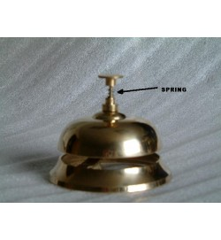 Reception Bell Wooden Base