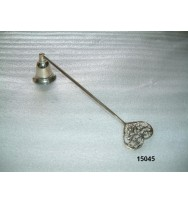 Snuffer Heart Silver Ant