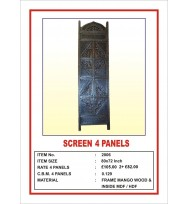 Screen 4 Panel  'Angular Design' Dark