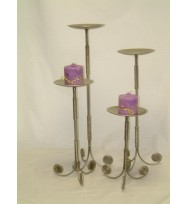 Candle stand Silver Antique