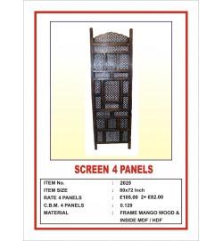 Screen 4 Panel 'Arabian Cutwork'