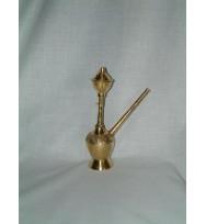Hooka Embossed All Brass