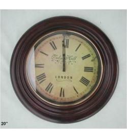 Antique Wood Tulse Hill London Clock