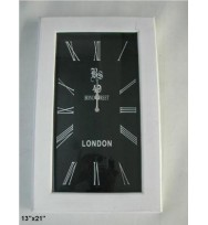 Rectangular Bond Street Decor Clock