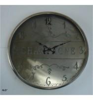 CHAMPAGNE cutwork Clock