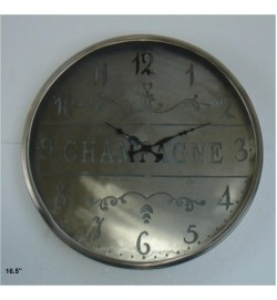 CHAMPAGNE cutwork Clock