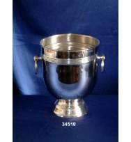 Plain Champaigne Cooler Ball/Ring Nickel
