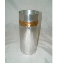 Vase straight Brass & Copper