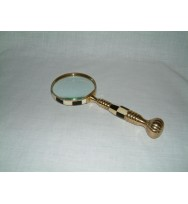 "Magnifier 3"" MOP/Black Ball Handle"