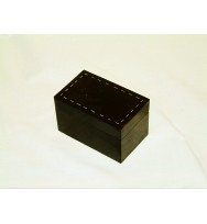 Box with White Metal Inlay 5x3x3