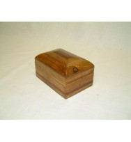Box 6x4 with contrast Redwood Inlay