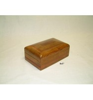 Box 8x5 with contrast Redwood Inlay