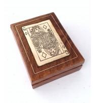 Single 'QUEEN' Cards Box