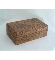 Fine Carving Box 10x6