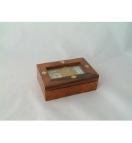 Glass Cover Playing Card Box
