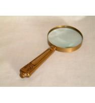 Magnifier Brass Antique Edwardian