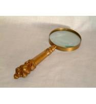 Magnifier Brass Antique