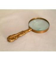 Magnifier Brass Antique Georgian