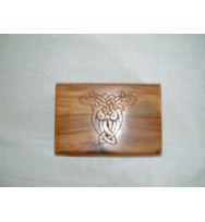 Box Celtic carving