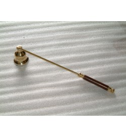 Candle Snuffer/Carry Wood Polish