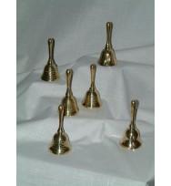 Set of Six Mini Bells