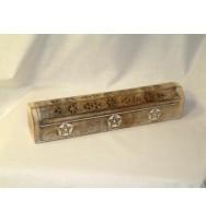 Ashcatcher Box Star carving