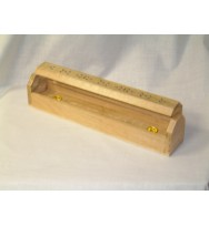 "Ashcatcher Box White wood 12"""