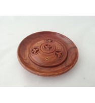 Incense Plate Peace Symbol