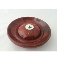 Incense Plate Leaf