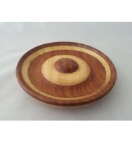 Incense Plate 'wood inlay work'