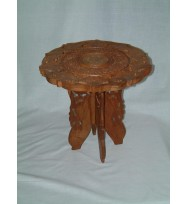 Cutwork 4 Leg Table 12""