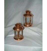 Lantern Copper Star/Moon 6""