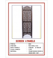 Screen 4 Panel Centre Branch Leaf