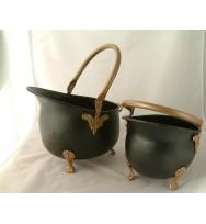 S/2 Coal Bucket w/feet