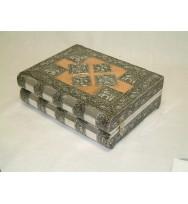 Jewellery Box Book Shape Copper