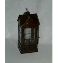 Lantern copper antique square