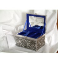 Jewllery Box Satin 2 Trays