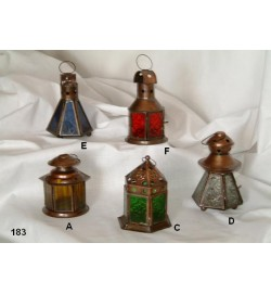 Copper Antique Lantern Mini
