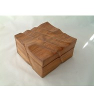 Box 'Natural carved-out' Wavy7x7x4
