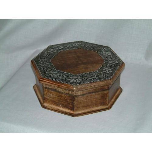 Box Hexagonal Alu Deco