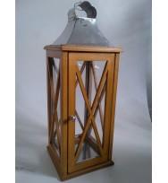 Wooden Lantern 68cm