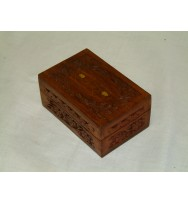 Box Carved (Oil) 6x4x2.75""