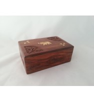 Elephant & Carving work Box sml